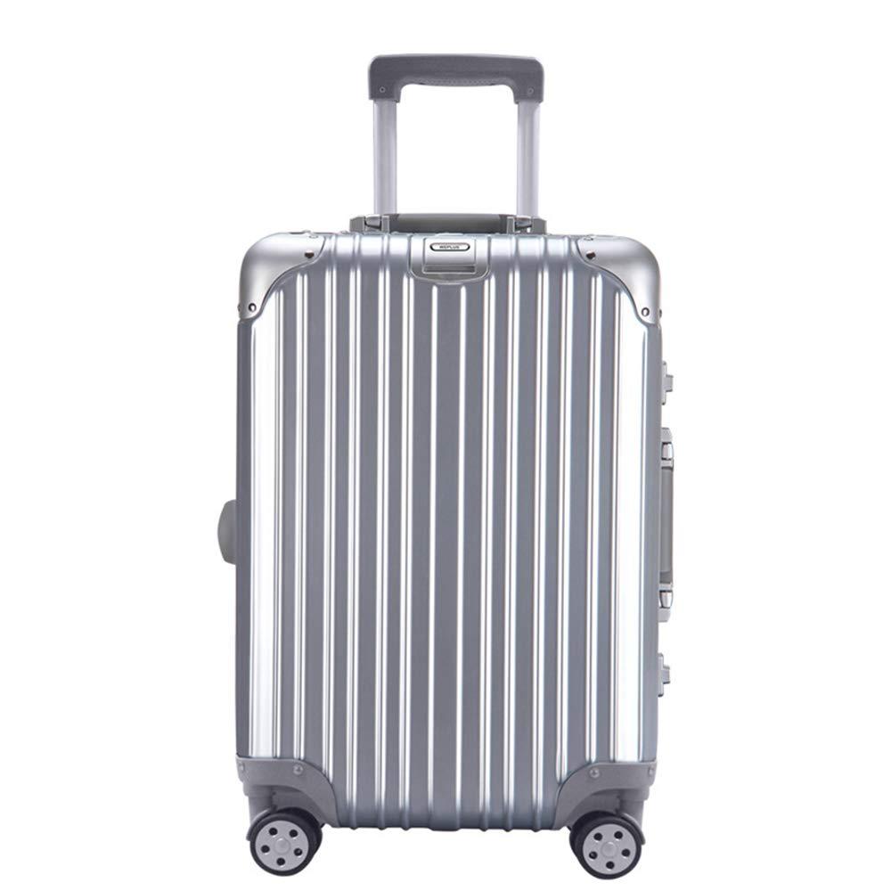 機内持ち込み手荷物、TSAロック付き荷物、スピナーホイール付きトラベルバッグトロリースーツケース軽量で丈夫な旅行用荷物、ビジネス B07QMC8ZSB