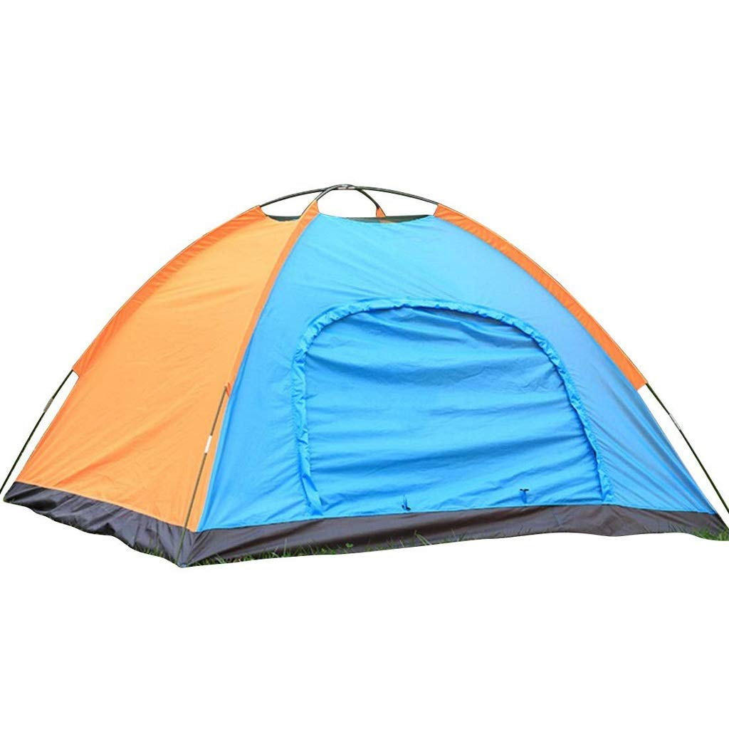 サイズ3-4人キャンプテント屋外ハイキング防水テント   B07P2KLM3J