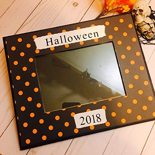 Halloween Frame Hocus pocus Halloween Decorations -Halloween picture frame- halloween decor -halloween 2018- take me trick or treating mommy]()