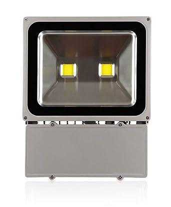 100W Luz Foco Proyector LED Blanco Frio Foco Exterior Foco de ...