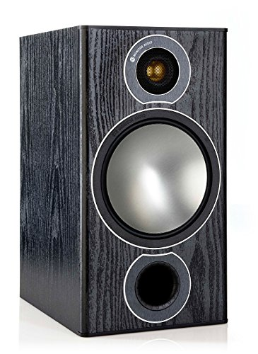 Monitor Audio Bronze 2 Bookshelf Speakers – Black Oak