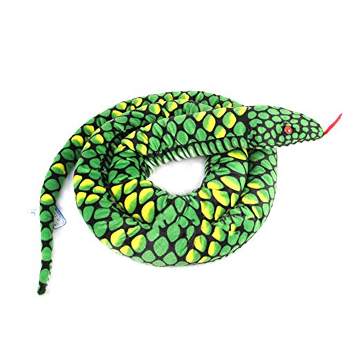 Giveme5 Giant Anaconda Snake Plush Stuffed Animal Toy 110