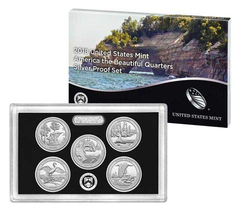 (2018 S America the Beautiful Silver Quarters)