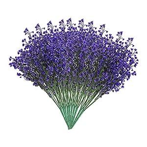 EZFLOWERY Artificial Flowers 4
