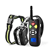 Training Dog Collar - FimiTech Dog Training Collar, Dog Shock Collar with Remote Control, 3 Training Modes, Beep, Vibration and Shock, 0~100 Levels Shock and Vibration Dog Training Set for Different Size of Dog