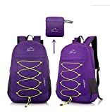 CLEVER BEES Backpack Foldable Ultra Lightweight
