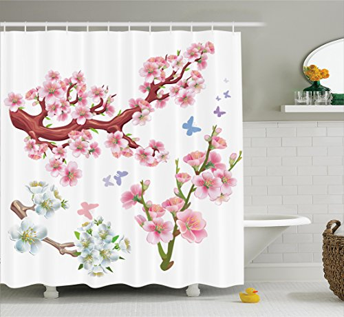 Ambesonne Collection Flowering Branches Accessories