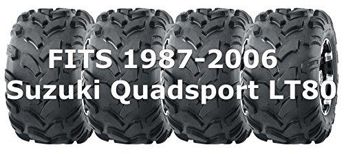 1987-2006 Suzuki Quadsport LT80 WANDA Sport ATV tires 19x7-8 19x7x8, Set of 4