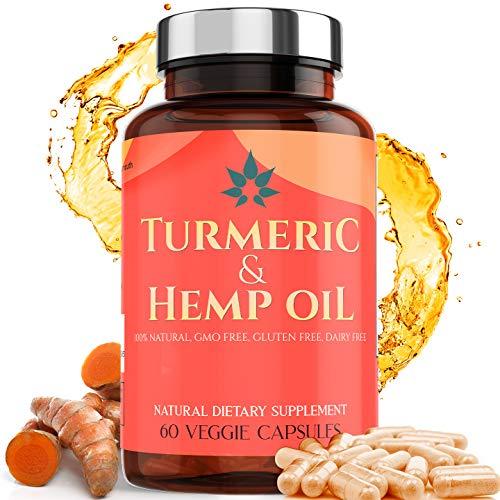 Turmeric-Capsules-with-Hemp-Oil-95-Turmeric-Curcumin-with-Bioperine-Made-in-USA-Turmeric-Pills-Turmeric-Supplements-Hemp-Oil-for-Pain-Relief-Pills-Hemp-Extract-Turmeric-Curcumin-Supplement