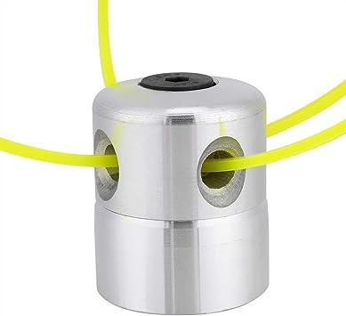 Cabezales de Corte de Césped, Accesorios para Desbrozadora, Cabezal de Corte de Aluminio Universal con Juego de Líneas de Corte Accesorios de Corte de Césped: Amazon.es: Electrónica