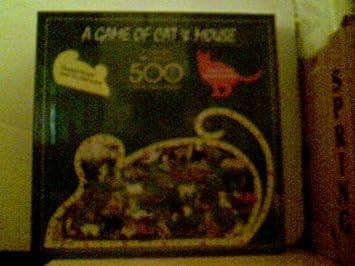 Amazon.com: Un Juego de gato & mouse – Puzzle de 500 piezas ...
