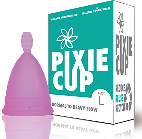 Most Comfortable Menstrual Cup - includes Period Cup Wipes
