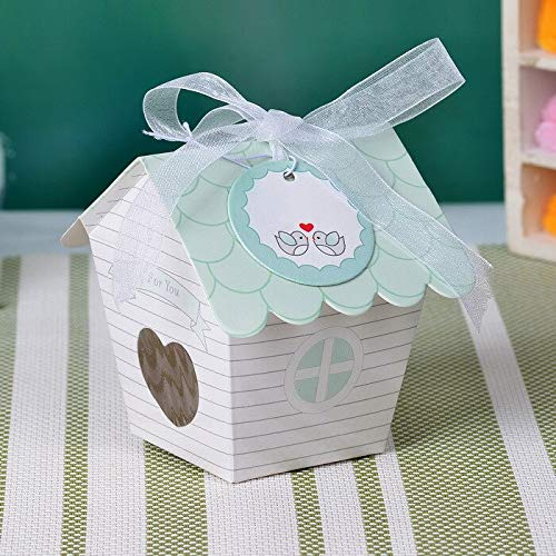 Sweet Bird House Favor Box -