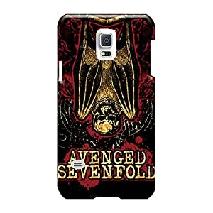 Samsung Galaxy S5 Mini RIB2394OVzK Allow Personal Design Colorful Avenged Sevenfold Image Scratch Protection Hard Phone Covers -hardcase88