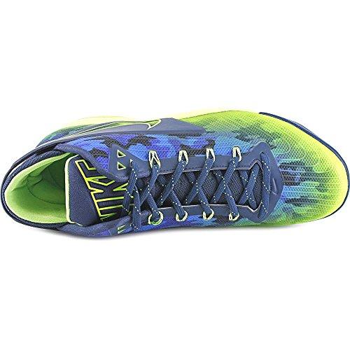 Nike Zoom Archiviato Mens Generale Sneaker Verde Blu Scuro