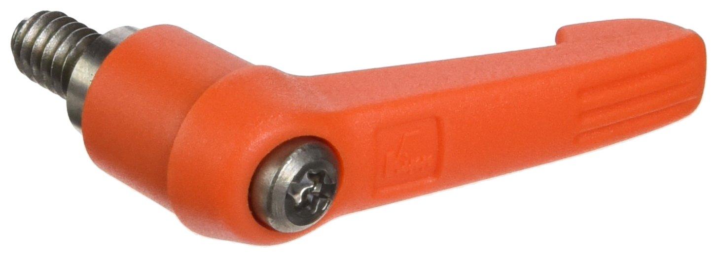 Inch Stainless Steel Components Size 1 K0270.1A22X10 10 mm Screw Length Orange Color Novo/·Grip Style KIPP Inc Kipp 06611-1A22X10 Fiberglass Reinforced Plastic//Steel Adjustable Handle with 1//4-20 External Thread,Novo/·Grip Style
