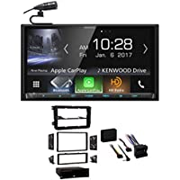Kenwood DVD Bluetooth Receiver Android/Carplay/USB For 10-14 Volkswagen Golf VW