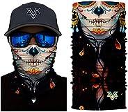 Bandanas Headband - Sport Outdoor Headband Skull Face Multifunctional Motorcycling Headwear