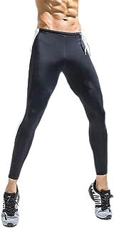 EUFANCE Uomini Professionale di Pantaloni di Compressione Strato di Base Sport Corsa Palestra Collant Leggings YJF00056