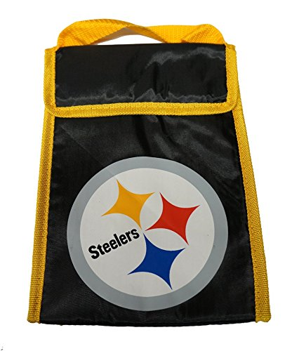 NFL Pittsburgh Steelers Big Logo Velcro Lunch Bag by Forever Collectibles