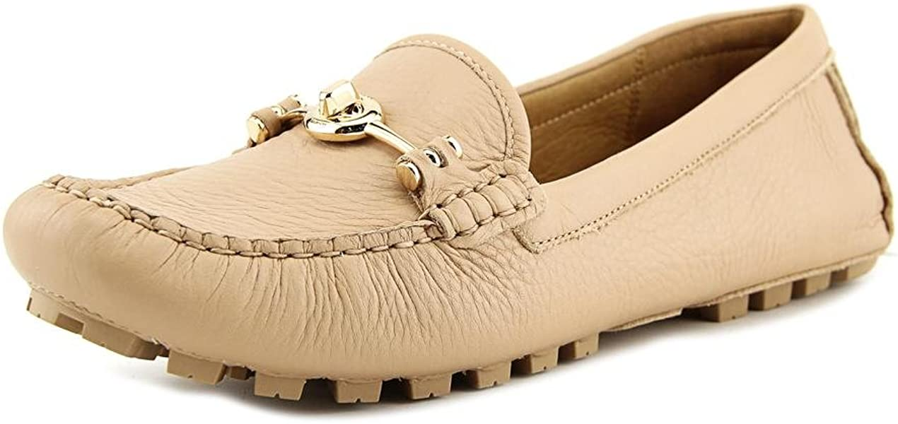 Womens Arlene Leather Closed Toe Loafers