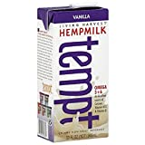 Living Harvest Tempt Hemp Milk, Unsweetened Vanilla, 32-Ounce Containers (Pack of 12)