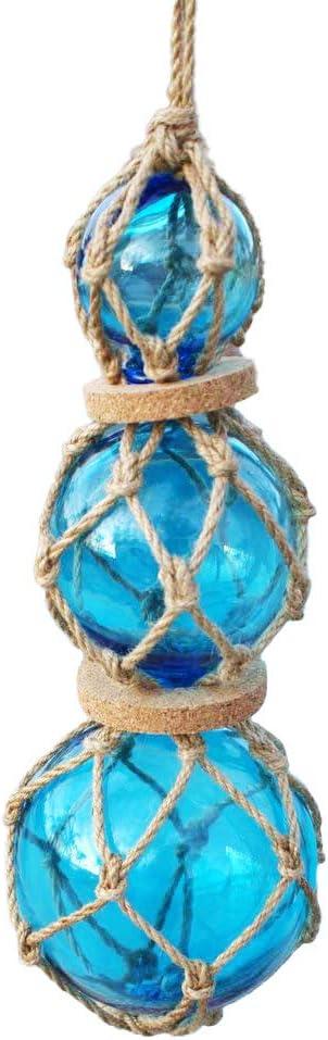 Glass Fishing Floats | Aqua Japanese Glass Floats Strand 2