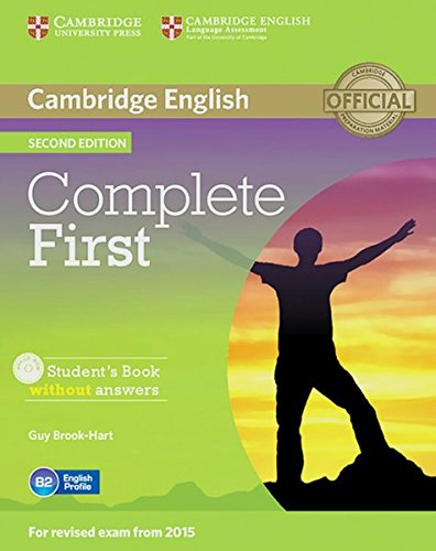 Complete First: Second edition. Student's Book without answers with CD-ROM
