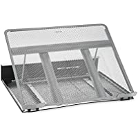 Rolodex Mesh Workspace Laptop Stand (Black/Silver)