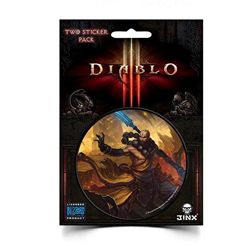 JINX Diablo III Monk Class Sticker, Multi-Colored, 3