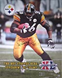 Jerome Bettis Signed Steelers Autographed 26x32
