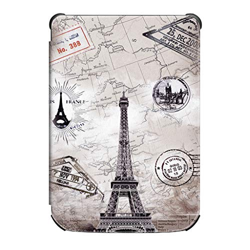 ❤️Byedog❤Slim Smart Leather Stand Cover Case for Pocketbook 632/627/616 Lux 4/Basic Lux 2 (G)
