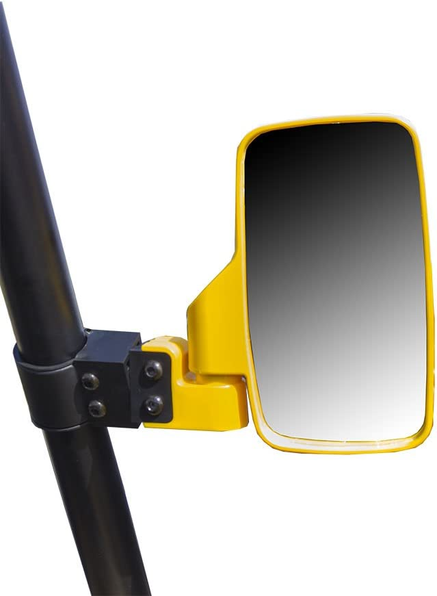 Yellow Rear View Mirror 2009-2019 Honda Big Red 700 Pioneer 500 1000 Wide View