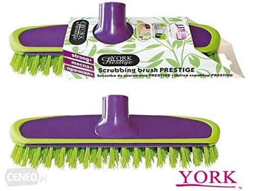 York Scrubbing Broom Prestige, Multicolor, Small