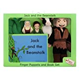 Jack and the Beanstalk Finger Puppet and Book Set