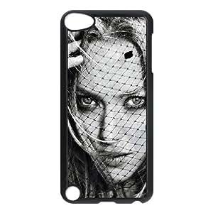 iPod Touch 5 Case Black ha14 amanda seyfried glamour girl face art TR2409622
