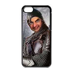 iphone5c Black Mr Bean phone case Christmas Gifts&Gift Attractive Phone Case HLN5A0222307