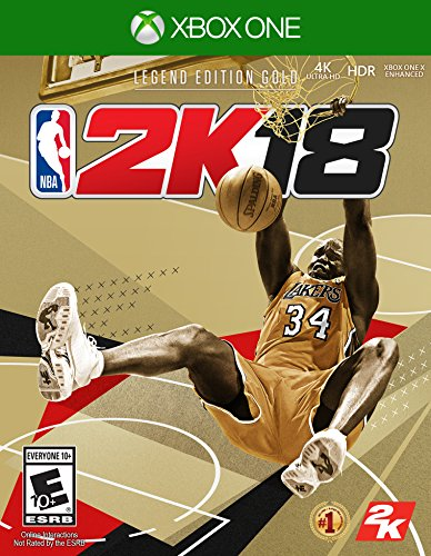 NBA 2K18 Legend Edition Gold - Pre-load - Xbox One [Digital Code] by 2K