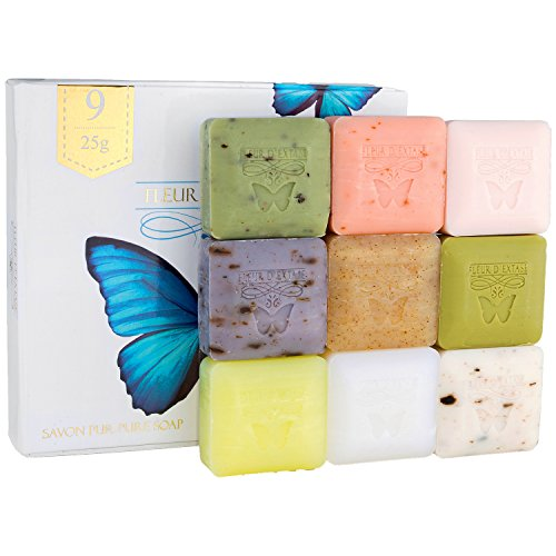 Fleur-D-Extase-Ecstacy-Soap-Individually-Wrapped-Bars-Of-Guest-Soaps-All-Natural