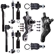 Scitoo 10Pc Suspension Kits Front Ball Joint Tie Rod End Sway Bar Link Complete Kit for 1996-2002 Toyota 4Runner
