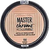 Maybelline New York Face Studio Master Chrome Metallic Highlighter, Molten Gold, 0.24 fl. Oz.