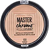 Maybelline Master Chrome Metallic Highlighter Powder, Molten Gold, 0.24 Ounce