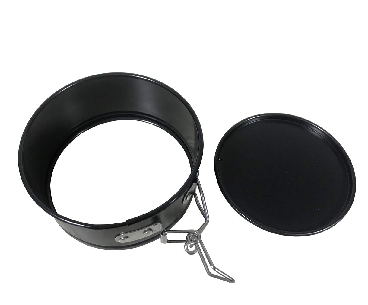 3 Pieces//Set Cake Pan 4 Inch 7 Inch 9 Inch Non-Stick Leakproof Round Cake Pan Springform with Removable Bottom Cake Pan for Instantpot Pressure Cooker or Oven