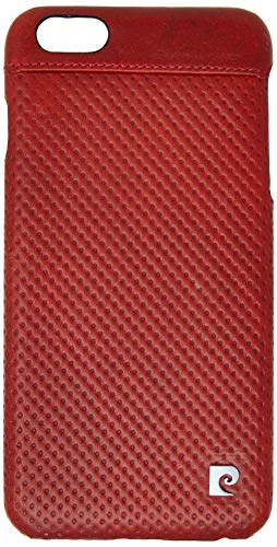 Capa Iphone 6/6s Plus Pierre Cardin Couro Legitimo - Vermelho