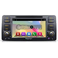 Eonon CA7150 Android 6.0 Car DVD Player Special for BMW E46 3 Series 1998-2005 Quad Core Marshmallow In Dash GPS Radio Stereo 7 Inch 1 Din Multimedia Touch Screen Bluetooth 4.0 Sub Volume Control