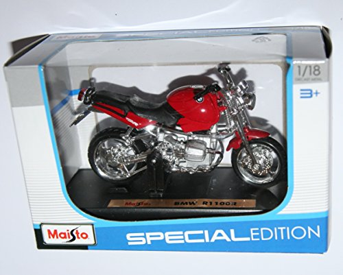 Maisto Bmw R1100R Red Motorcycle Die Cast Model Scale for sale  Delivered anywhere in USA