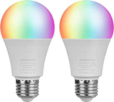 Amazon.com: LEGELITE Bombilla LED inteligente, WiFi Smart ...