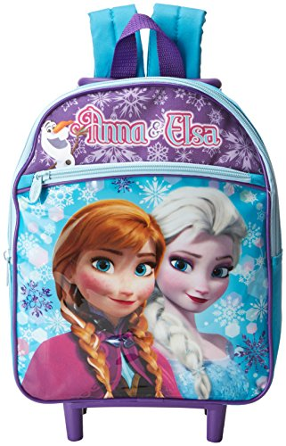 Disney Girls Frozen Rolling Backpack