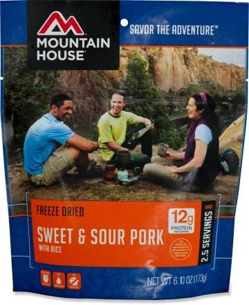 Mountain House Sweet and Sour Pork with Rice