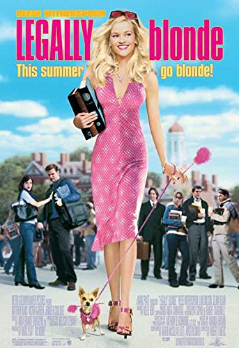 Legally Blonde POSTER Movie (11 x 17 Inches - 28cm x 44cm) (2001) - Davis Movie Poster